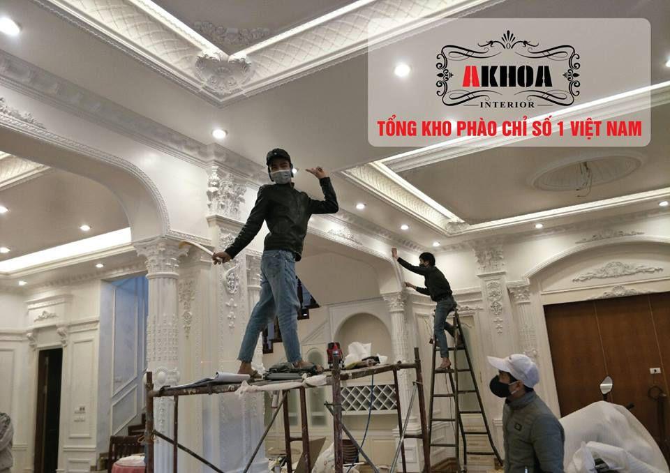 Tổng kho phào chỉ số 1 công ty nội thất Akhoa