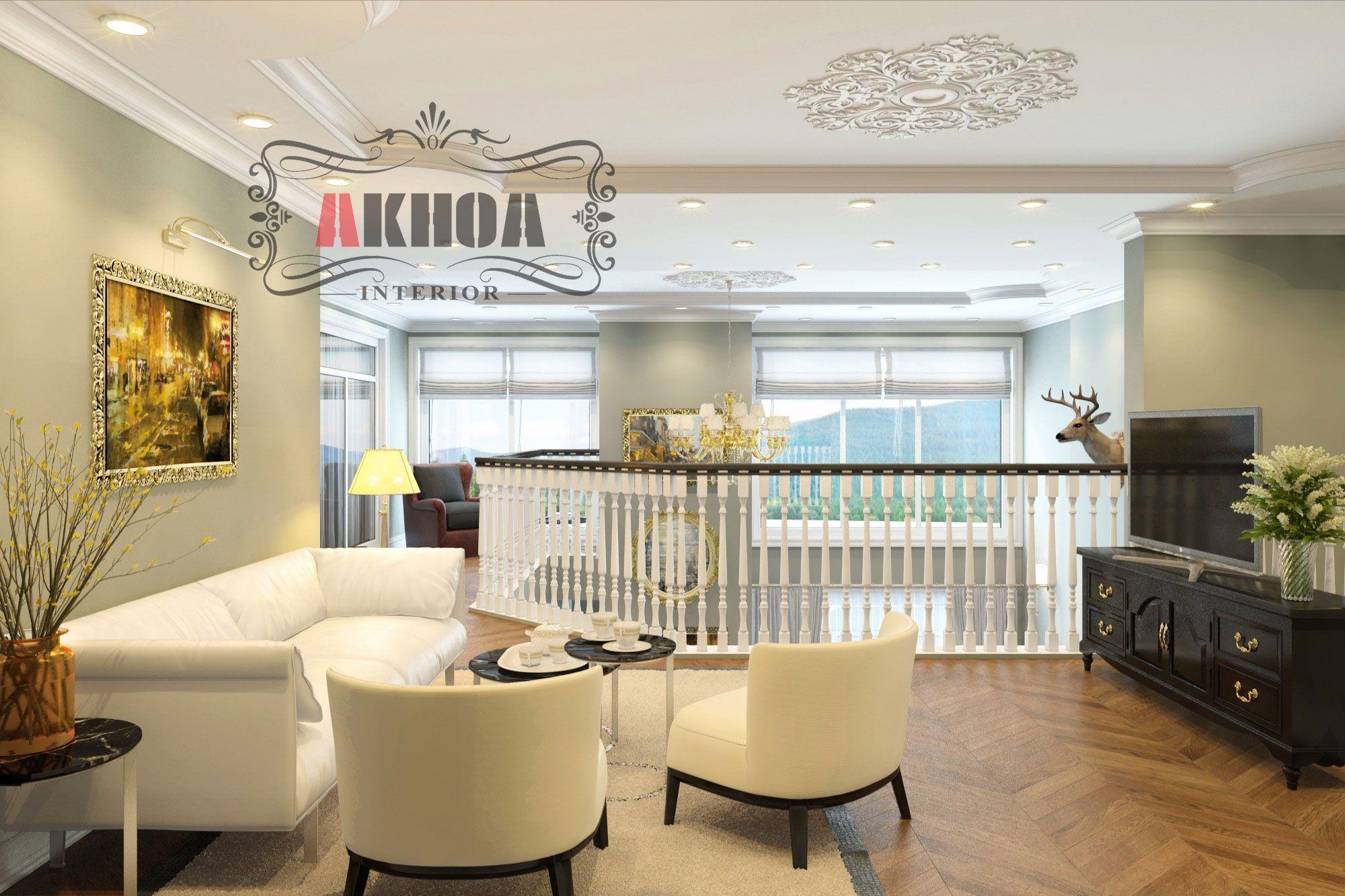 Thiết kế thi công chung cư cao cấp Duplex Hà Đô